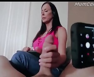 Stepmom helping son