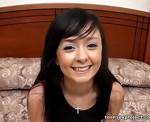 Eighteen year Old Brooklyn From Exploited Teens Gets to Swallow