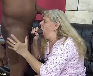 very first time interracial fuck for 71 years old granny