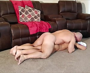 Alexis massages and fucks her step brother