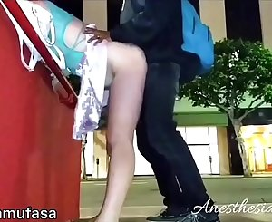 Young Bull Made Her Squirt 3 TIMES IN PUBLIC - Drunk White Bitch First Black Dick