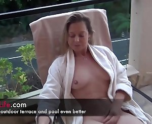 Real inexperienced housewife sharing her sexy life as a swinger