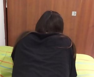 Step Daddy Punishes Teenager Daughter